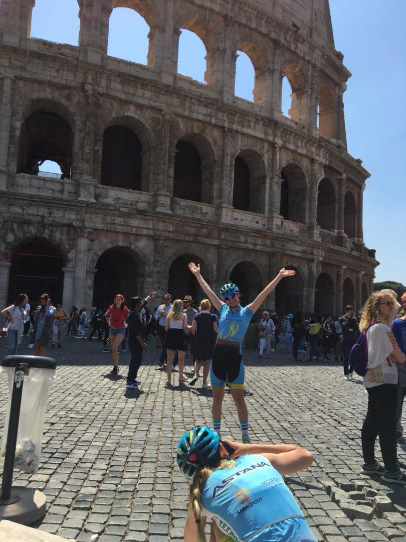 3.2 LIBERAZIONE - Roma 25 Aprile - Partenza Terme di Caracalla
