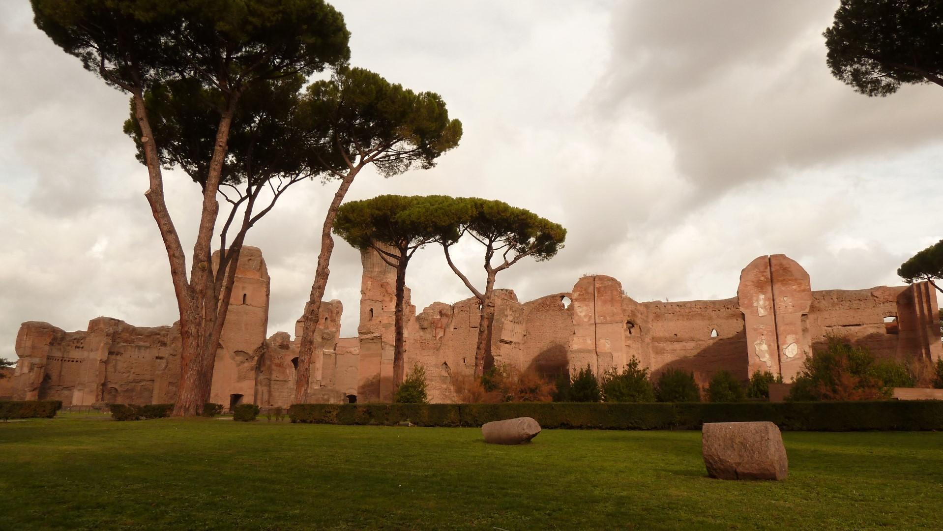 Roma 25 Aprile – Partenza Terme di Caracalla